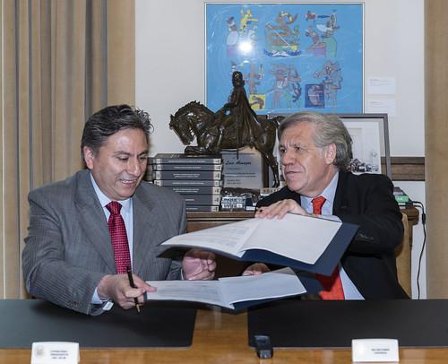 OEA e Instituto Electoral de la Ciudad de México impulsarán la transparencia electoral en la región