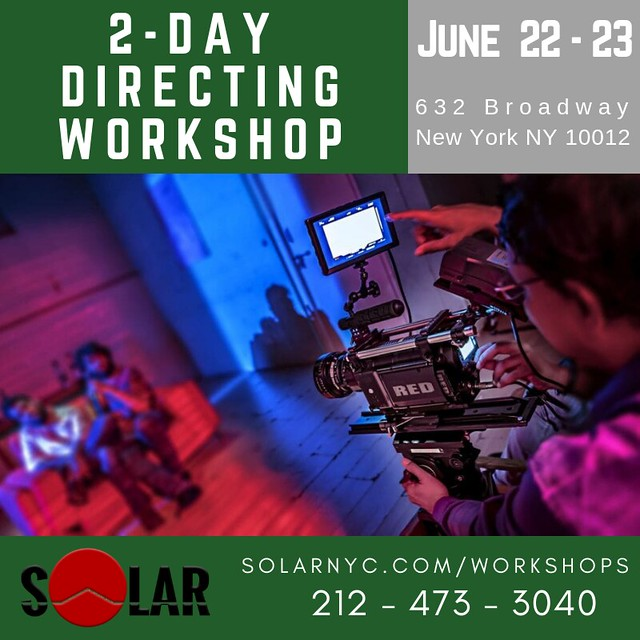 JUNE 2-DAY DIRECTING WORKSHOP
