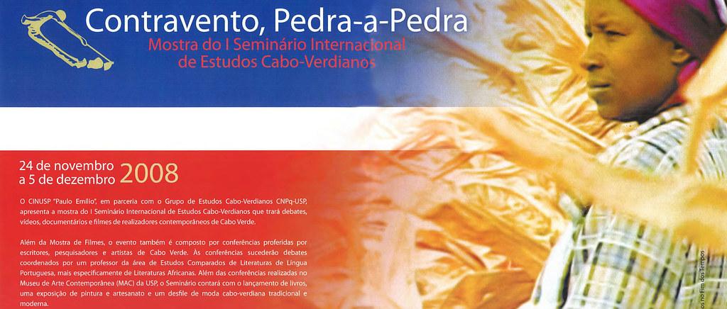 Contravento, Pedra-a-Pedra: Mostra do I Seminário Internacional de Estudos Cabo-Verdianos