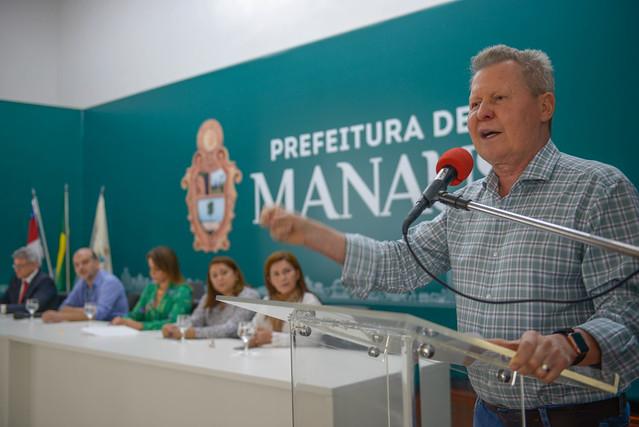 03.06.19 Prefeito Arthur anuncia fim do surto de sarampo em Manaus