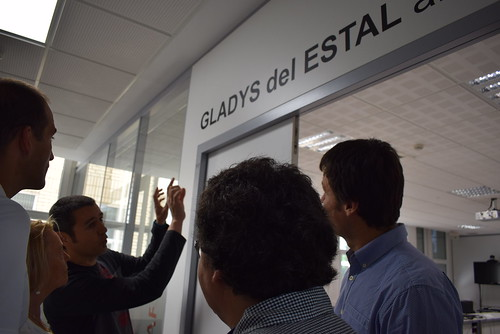 Gladys del Estalen omenaldia Informatikako fakultatean