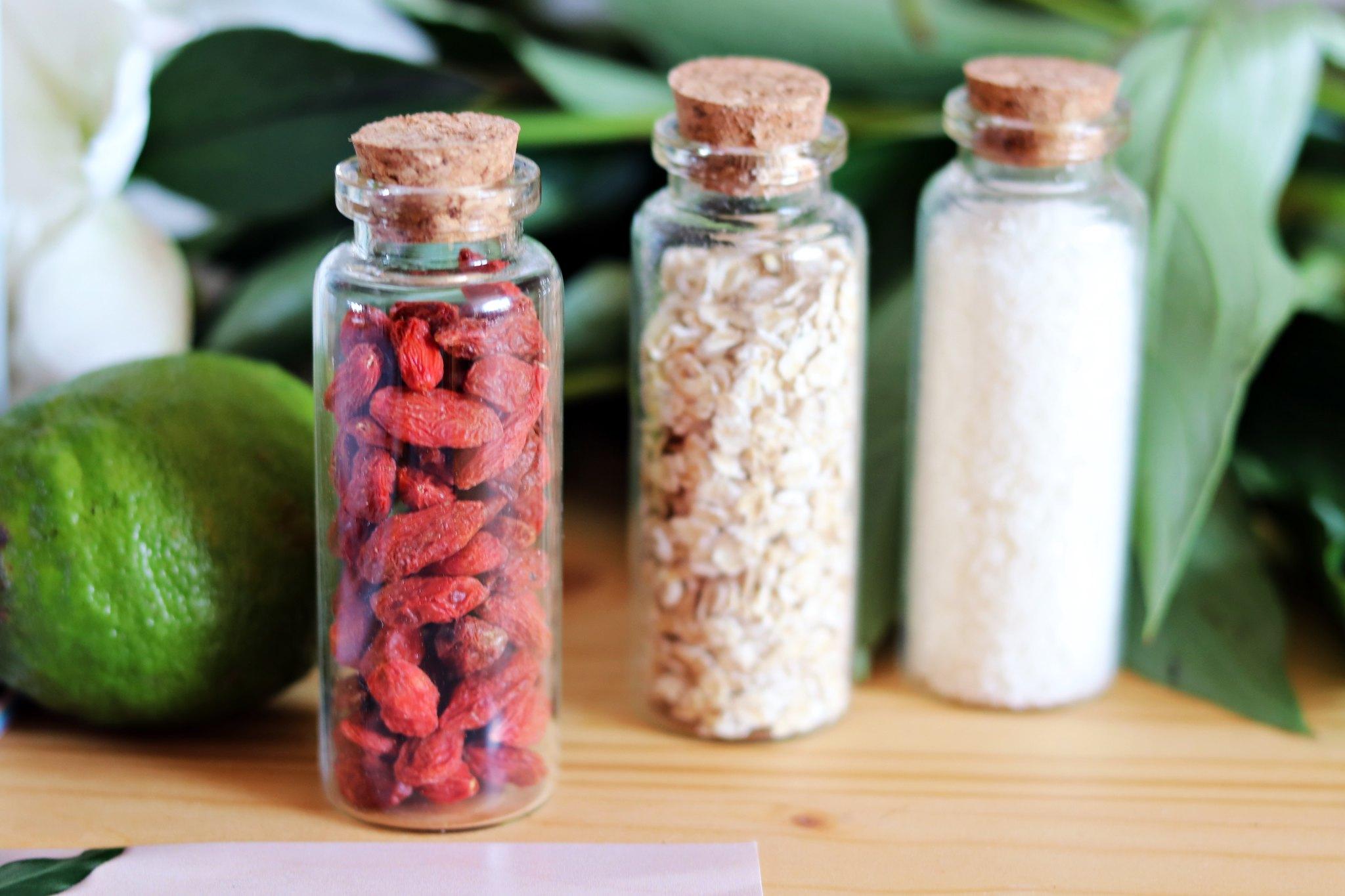 Oriflame recipiente ingrediente
