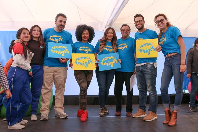 Lanzamiento de la campaña Seamos Amigos