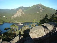 Вид с горы Болектау