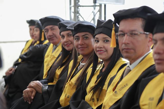 Graduación de maestrías de las primera promoción - UNAE Cuenca