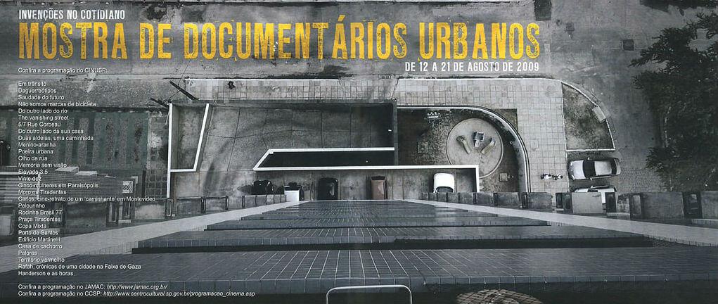 Mostra de Documentários Urbanos - Invenções no Cotidiano