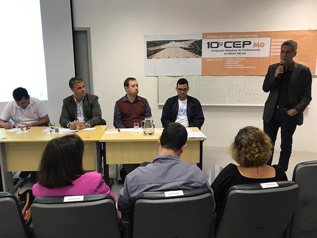 Especialistas e profissionais discutem desenvolvimento econômico e social no CEP Regional Sudeste