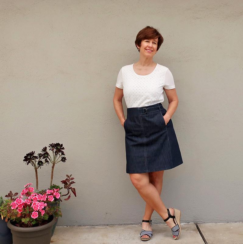 denim skirt1