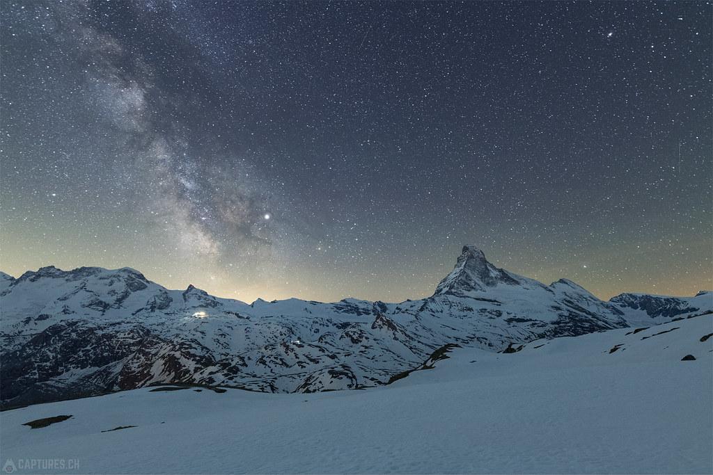 Icon under the stars - Matterhorn