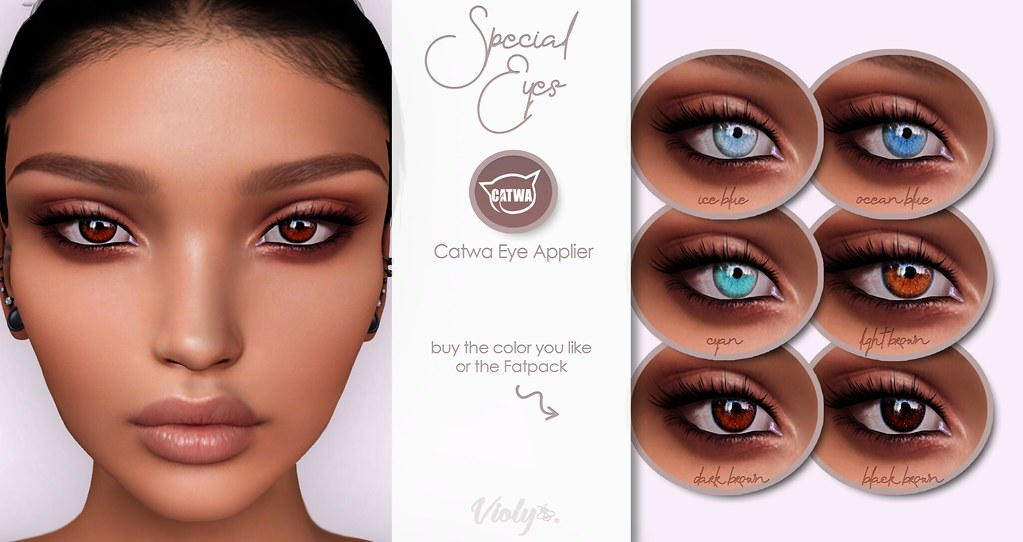 Violybee. Special Eyes – Catwa Applier