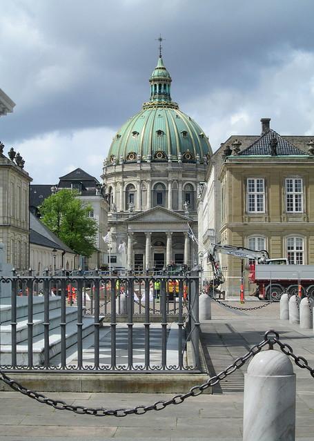 Frederiks Kirke from Amalienborg Palace