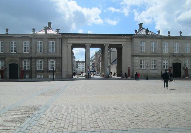 Amalienborg Palace Gateway, Copenhagen