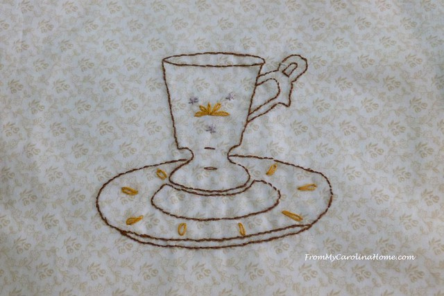 Teacups Quilt Along at FromMyCarolinaHome.com