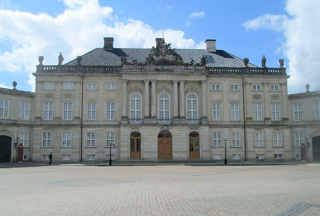 Amalienborg Palace, Copenhagen Close-up
