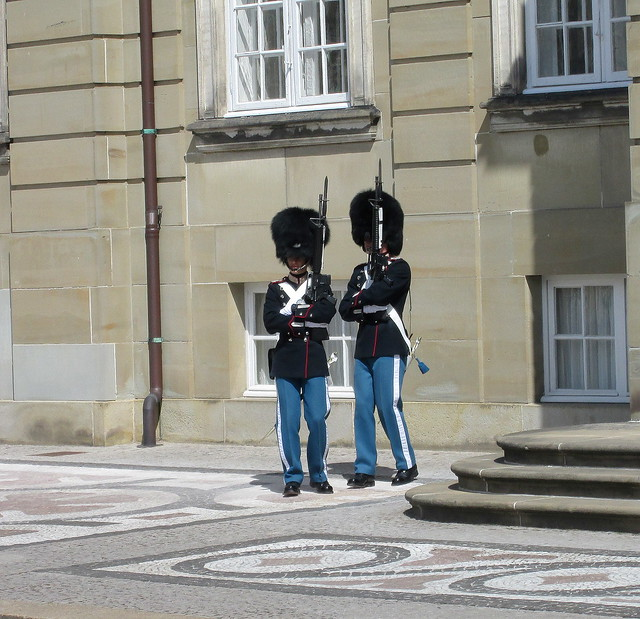 Amalienborg Palace Guards, Copenhagen
