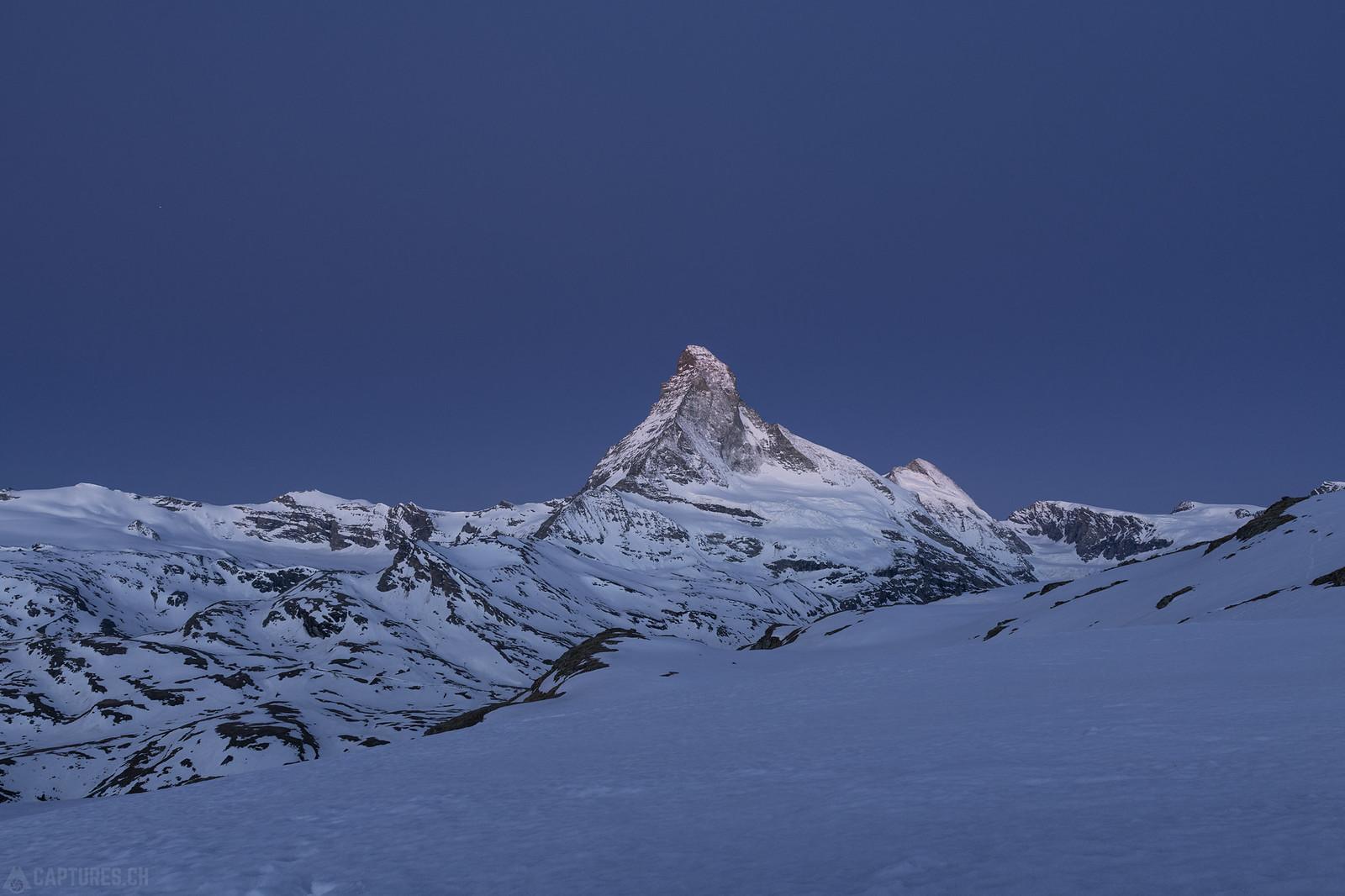 Blue hour - Matterhorn