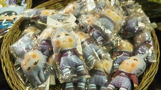 Tamtam dolls in the market   by Kodak Agfa