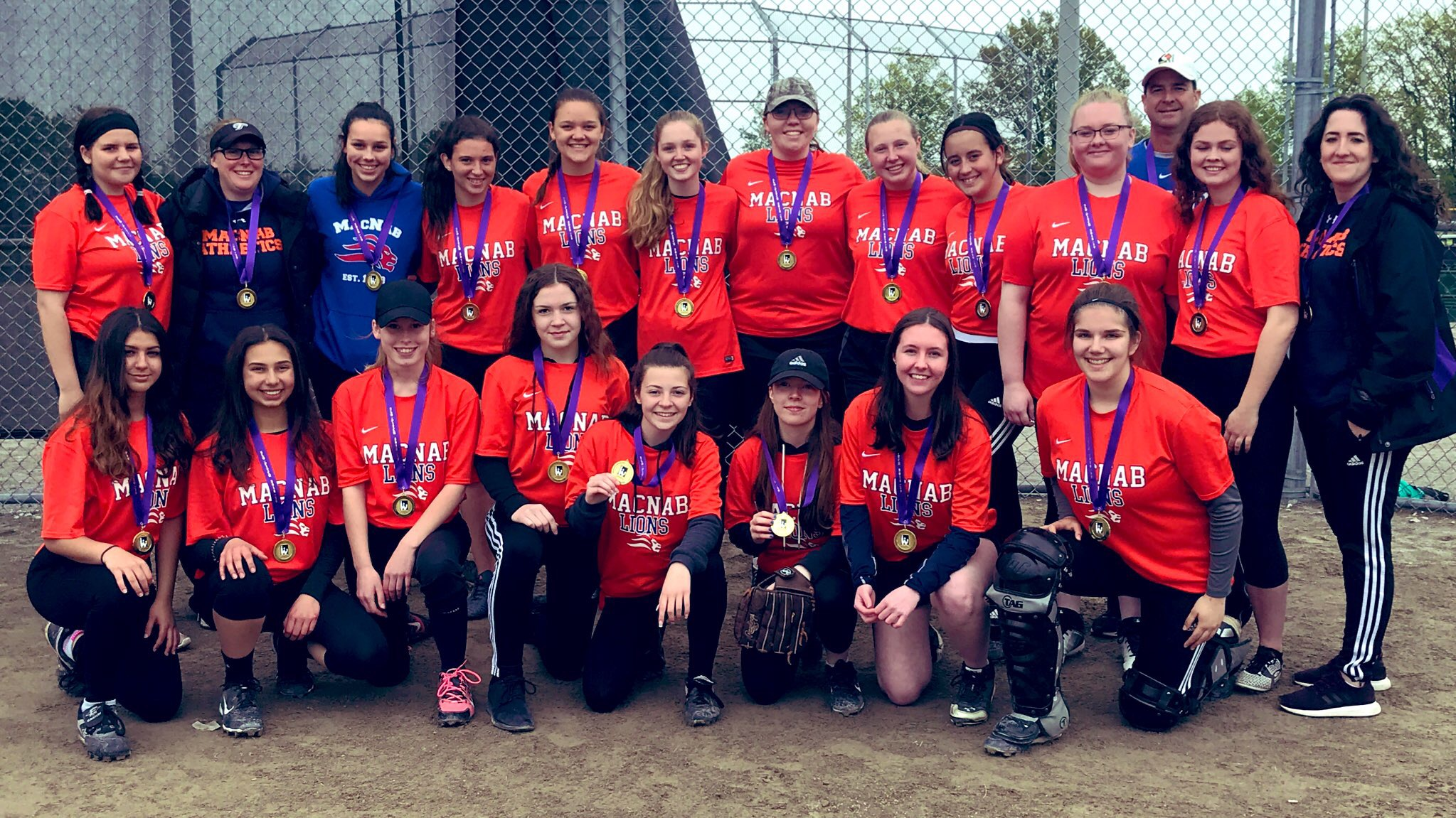2018-19 Girls Softball