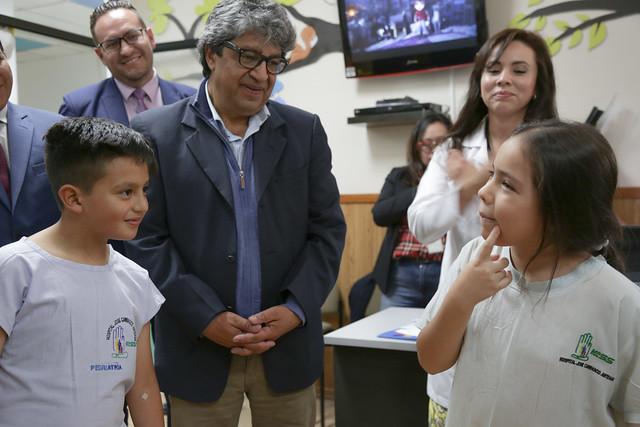 Visita a Aulas Hospitalarias - Cuenca
