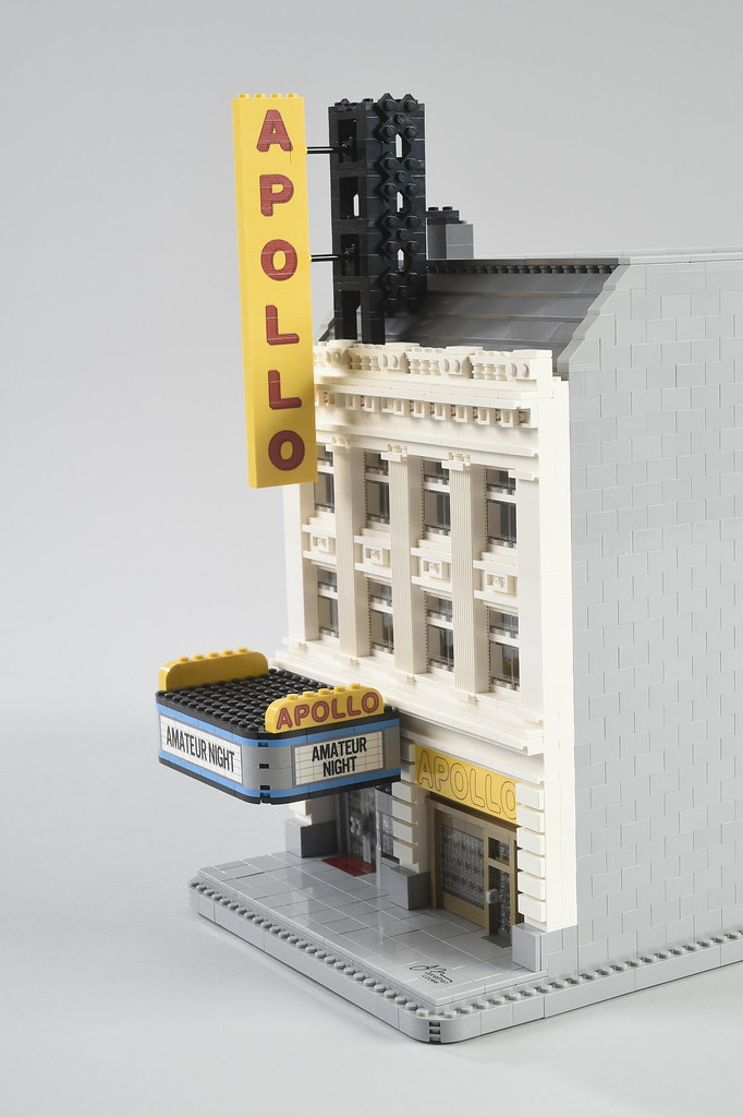 Apollo Theatre (2018) (custom built Lego model)