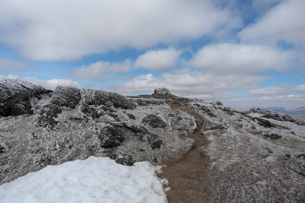 Summit area of Ben Vorlich