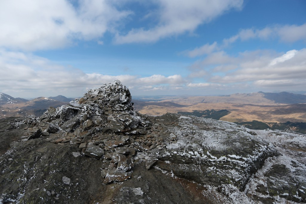 Summit of Ben Vorlich