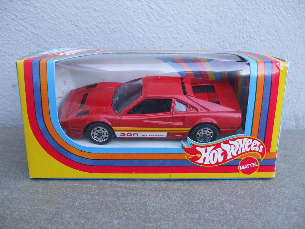 Vintage Mattel Super Hot Wheels Red Ferrari 208 Turbo 1980 Flickr