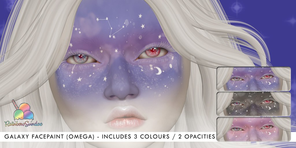 *Rainbow Sundae* Galaxy FacePaint @ We Love Roleplay - TeleportHub.com Live!