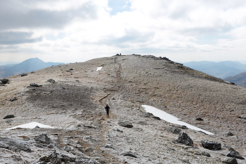 Ben Vorlich summit ridge