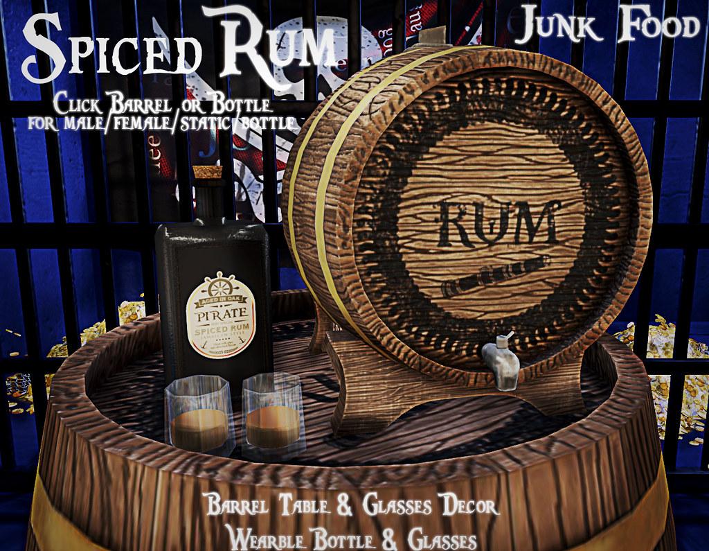 Junk Food - Spiced Rum - TeleportHub.com Live!