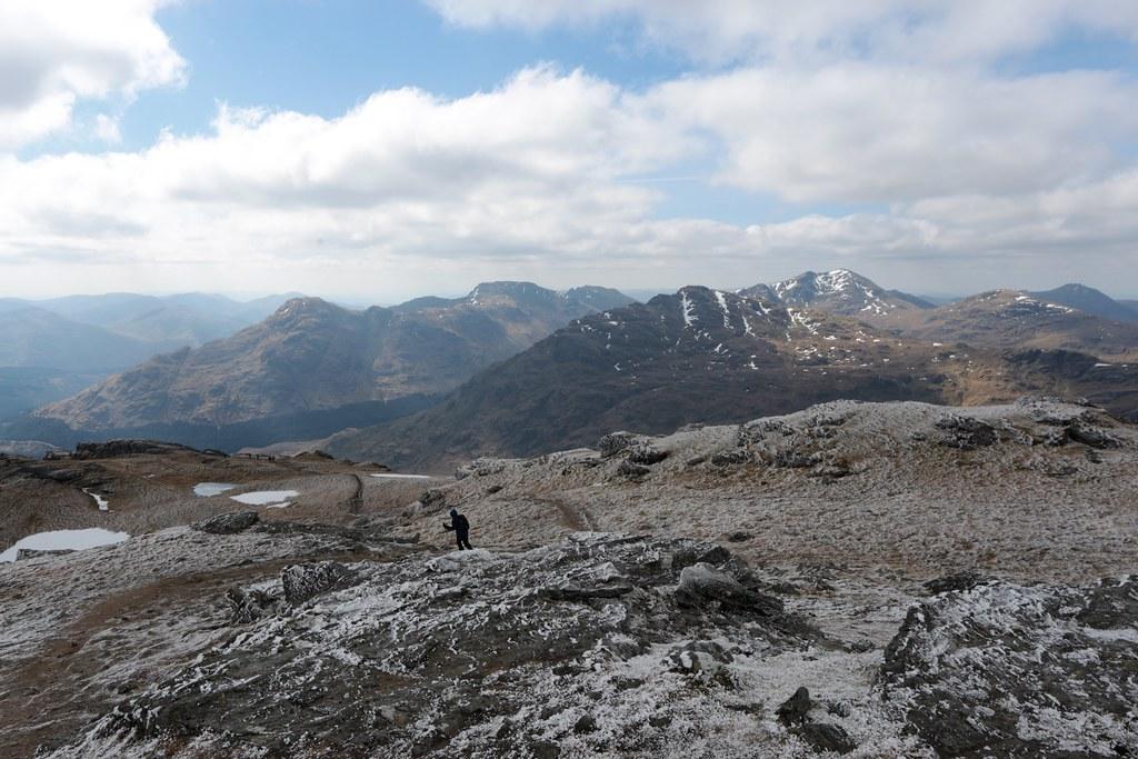 Arrochar Alps from Ben Vorlich