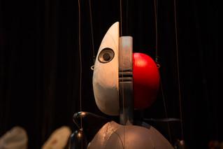 Bauhaus puppet