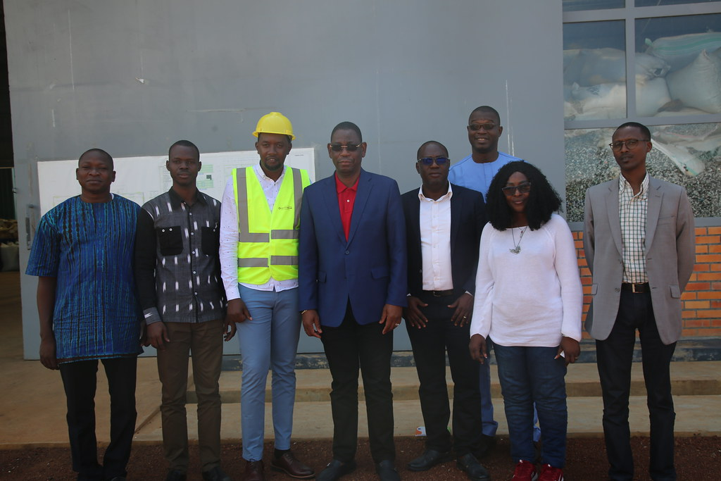Visit to Rwanda E-Waste Recycling Facility by Burkina Faso Minister of Environment, Green Economy and Climate Change