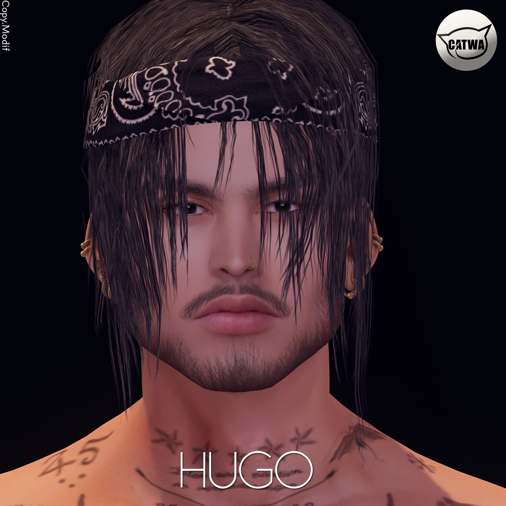 Hugo shape for catwa Victor head - TeleportHub.com Live!