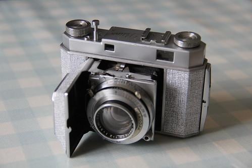 Camera of the Day - Customised Kodak Retina II Type 011 with Rodenstock Heligon f2/50mm lens
