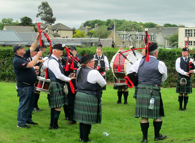 Pipe Band, Markinch