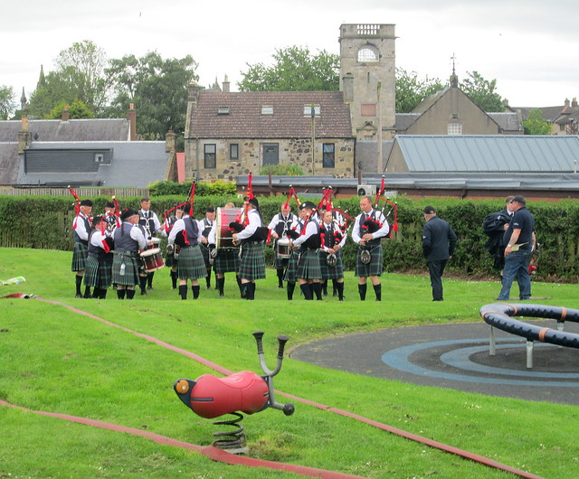 Pipe Band , Markinch Highland Games