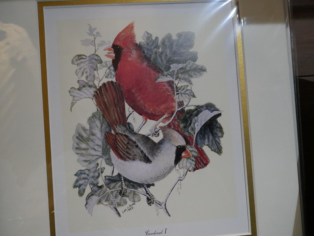 Downtown Indianapolis -  Painted Cardinals