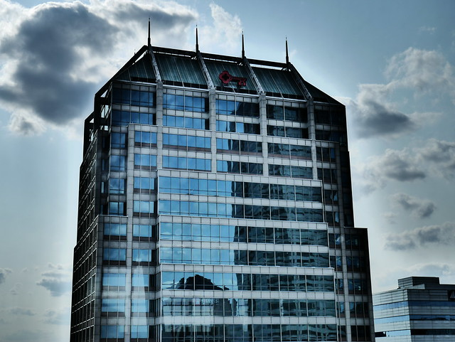 Downtown Indianapolis -  Moody Reflections