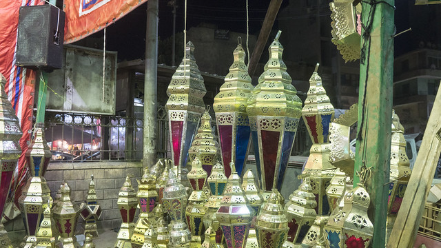Ramadan Lanterns at the market
