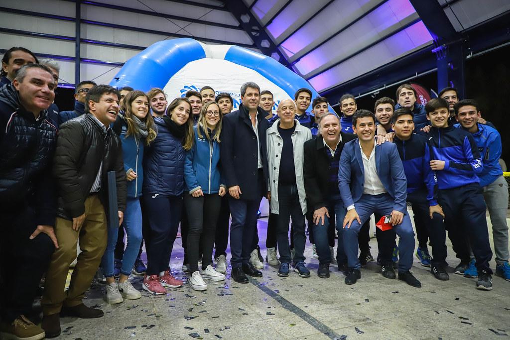 2019-06-03 PRENSA: Inauguración techado de cancha de Hockey sobre patines Club Colón Junior