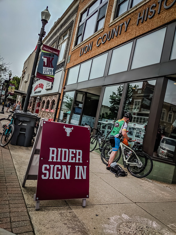 Rider Sign In Dirty Kanza 2019