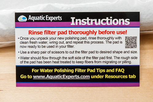 aquatic experts polishing pad instructions
