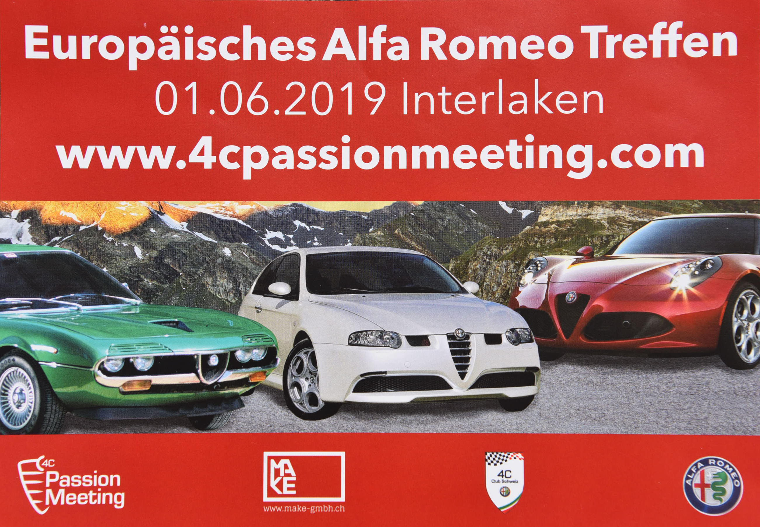 2019-06-01 Alfa Club 4C Passionmeeting Interlaken