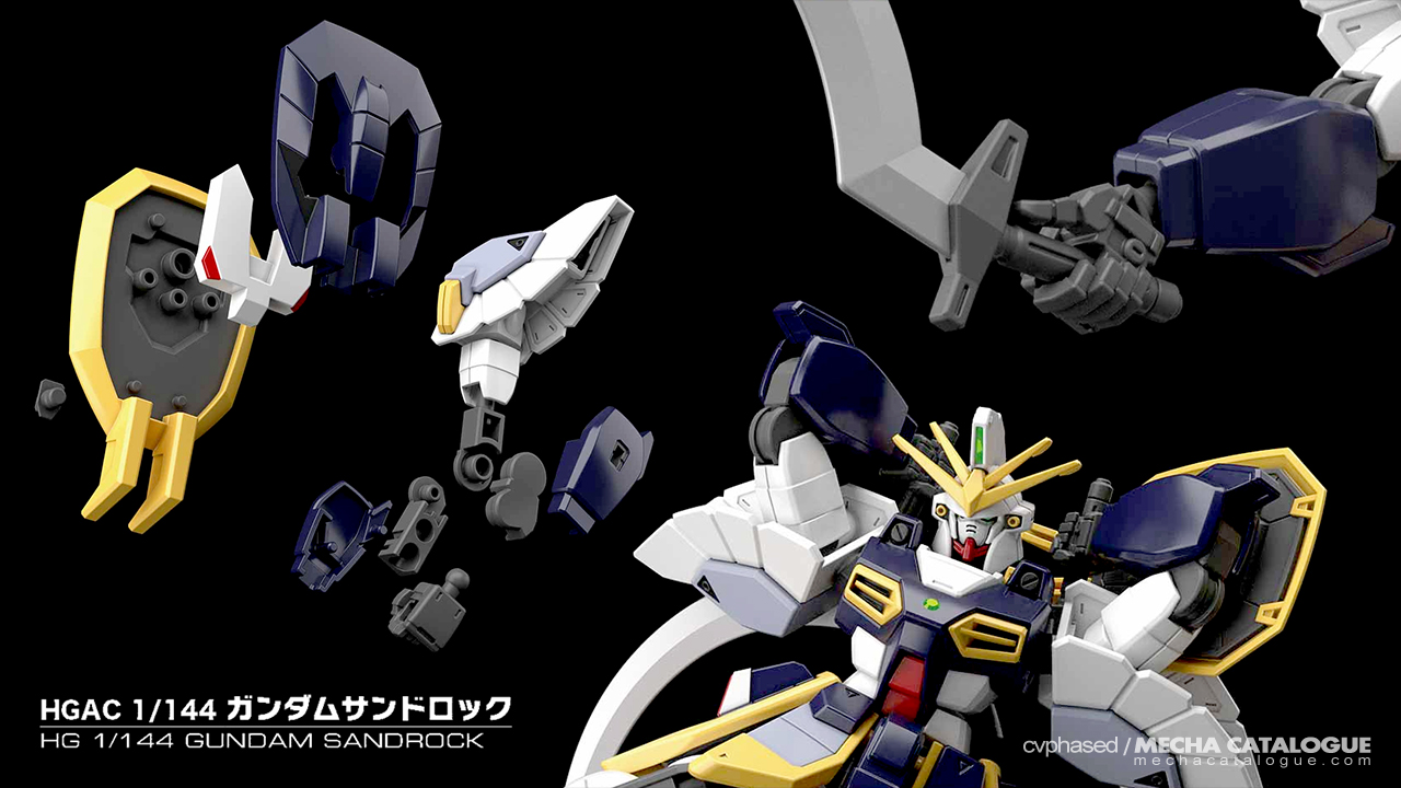HGAC Gundam Sandrock: Details and Features