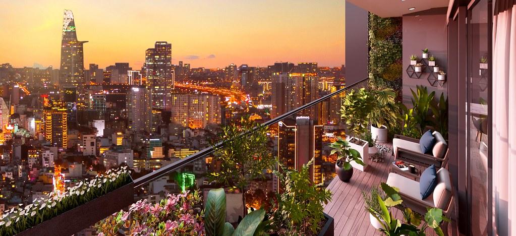 view thành phố