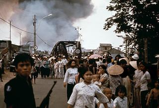 Vụ cháy lớn gần chợ Bà Chiểu do CS gây ra ngày 11-4-1975 khi chiến tranh gần kết thúc