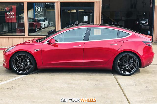 Tesla Model 3 - Vorsteiner V-FF 112 Carbon Graphite