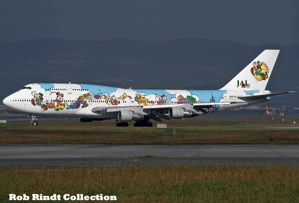 Japan Airlines B747SR-146B(SUD) JA8170
