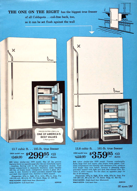 Sears Coldspot 1960